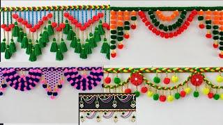Christmas Decoration Ideas | 7 Creative & Easy Door Hanging  Room Decor II Homemade Creations II