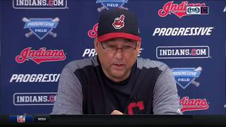 Cleveland Indians manager Terry Francona praises bullpen after Carrasco's outing, Zimmer's big night