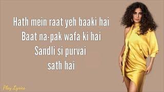 Husn Parcham (lyrics) : Kaitrina Kaif | Shahrukh   - YouTube