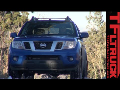 2015 Nissan Frontier PRO-4X Ruts & Guts Snowy Off-Road Review