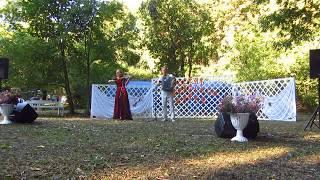 В графском парке. Русское видео 2