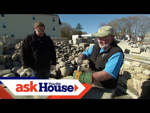 How to Cut and Shape Stones | Ask This Old House