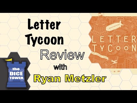 Dice Tower Reviews: Letter Tycoon - w/ Ryan Metzler
