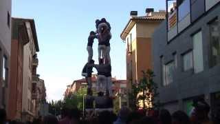 preview picture of video 'Colles de l'eix Vic 2013'
