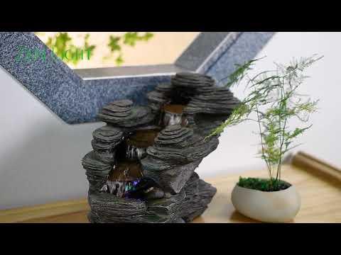 Fontaine d'Intérieur Nature River - Zen'Light