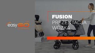 Коляска EasyGo Fusion Duo 2019 grey fox от компании Beesel - видео