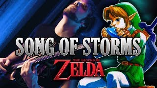 legend of zelda ocarina of time how to learn song of storms