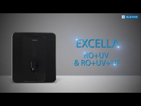 Blue Star Excella RO+UV+UF Water Purifier