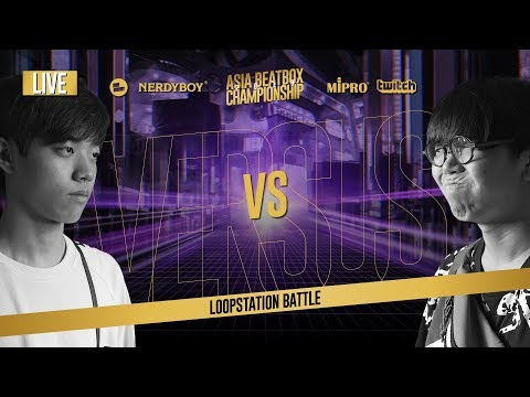 Dice (KR) vs SOSO (JP)|Asia Beatbox Championship 2019  FINAL LOOPSTATION BATTLE