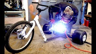 Making a 20,000 WATT Electric Drift Trike