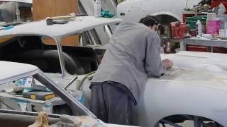 preview picture of video '1966 Jaguar E-type metal work'