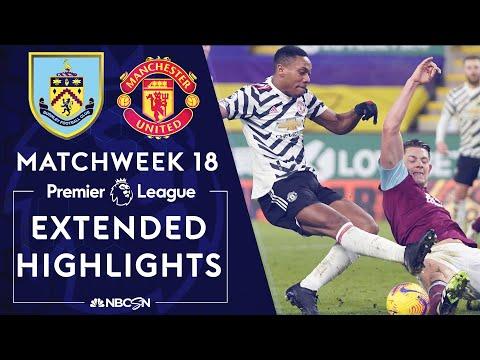 Burnley v. Manchester United   PREMIER LEAGUE HIGHLIGHTS   1/12/2021   NBC Sports