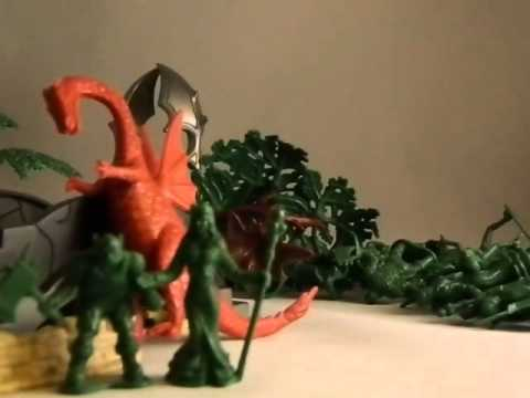 bosko's toybox 96- True Legends Mythical Warriors 72 piece Playset
