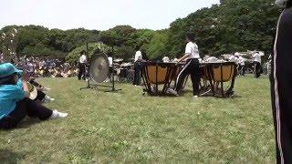 京都橘高等学校 吹奏楽部 @ ブラスエキスポ2016 Sing Sing Sing パーカッション部隊