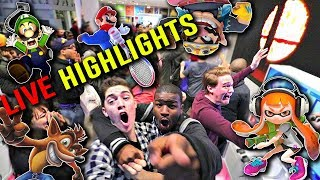 FULL REACTION HIGHLIGHTS to the Nintendo Direct 3.8.18 at the Nintendo NY Store!! (SMASH 5)