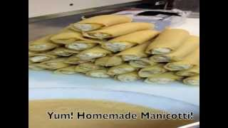 In The Kitchen At Momma D's: Making Manicotti
