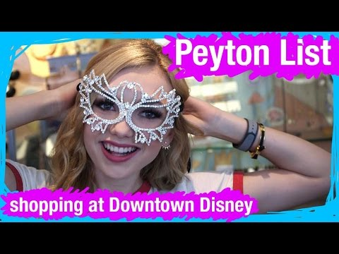 Peyton List Goes Shopping at Disney Springs | WDW Best Day Ever