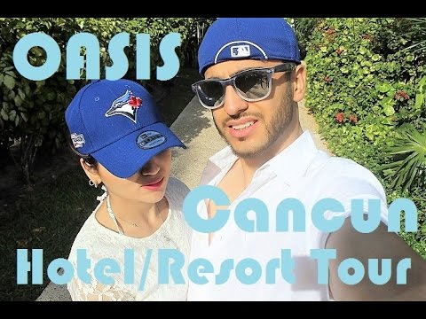 Travel Vlog | Cancun Resort and Hotel Tour – Grand Oasis | Fictionally Flawless