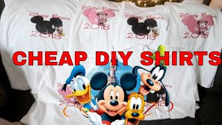 VLOGMAS DAY 7: DIY DISNEY SHIRTS