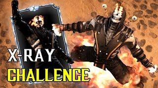 X-RAY ЧЕЛЛЕНДЖ - Mortal Kombat X Mobile
