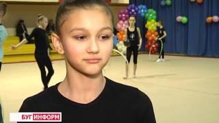2015-12-24 г. Брест. Чемпионат г. Бреста по художественной гимнастике. Телекомпания  Буг-ТВ.