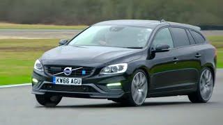 Chris Harris Lap: Volvo V60 Polestar | Extra Gear | BBC