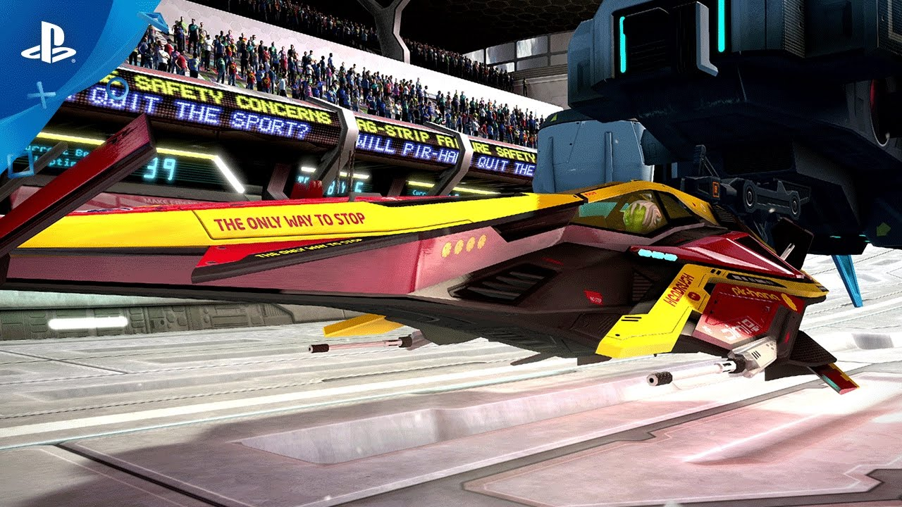 WipEout Omega Collection Coming to PS4 on June 6th