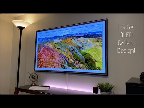 External Review Video otvMCsyhvLs for LG GX OLED 4K TV with Gallery Design