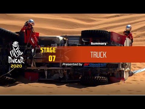 【ダカールラリーハイライト動画】ステージ7 トラック部門のハイライト