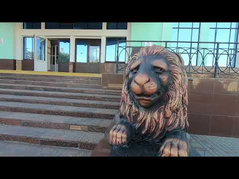 НЕ курортный Крым. Джанкой, центр города. Джанкойский рынок, ЖД вокзал, дом школьника.