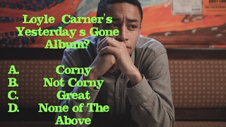 Corny or Not Loyle Carner's Yesterday's Gone Album Review | Willful Nomad
