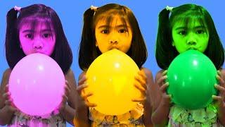 Magic Balloons | Preschool Toddler Learn Colors