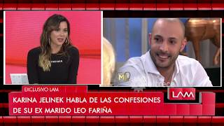 Jelinek habló por primera vez de su pasado con Leo Fariña
