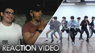 BTS 방탄소년단 FAKE LOVE [ DANCE PRACTICE ] REACTION #salv