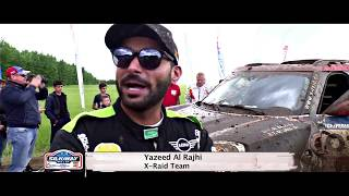 Yazeed Al Rajhi in Silkway Rally 2017 - Stage 1&2