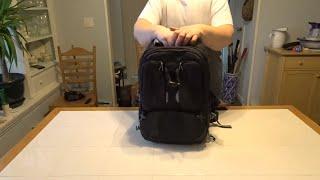 Camera Bag Review Part 2:   Tamrac Anvil Slim 15 Backpack