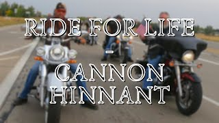 Ride for Life - Cannon Hinnant