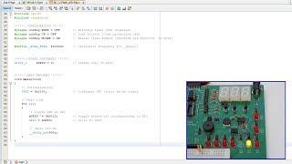 Baseline PIC C programming lesson 1 -  Flash an LED