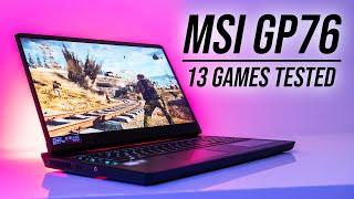 MSI GP76 Game Testing & Overclocking!
