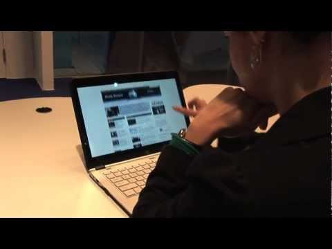 People React to Touch on Laptop Screens