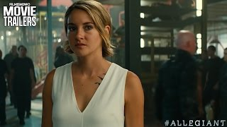 "The Divergent Series Allegiant Official ""Different"" Trailer HD"