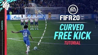 FIFA 20 | New Curved Free Kick Tutorial