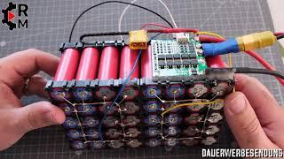 DIY 12 V Li-ion Battery Pack mit BMS als Ersatz für 2 6 V Bleigel Batterien