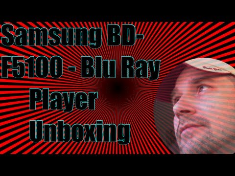 SamSung BD F5100 unboxing