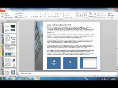 Basic Computer Literacy Course Level 1 Pt:2 - YouTube