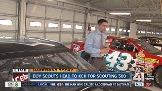 Boy Scouts Head To Kansas Speedway For Scouting 500