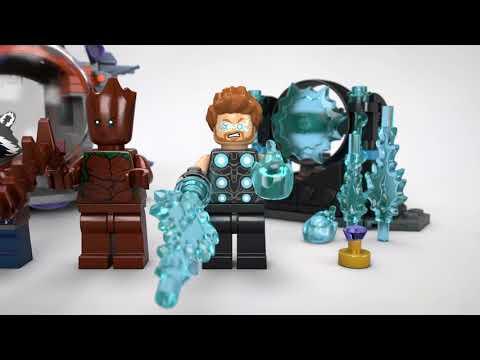 Vidéo LEGO Marvel 76102 : À la recherche du marteau de Thor
