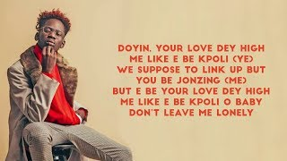 Mr Eazi & Simi   Doyin (Lyrics)