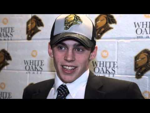 Meet your newest London Knight: 1st round pick Liam Foudy