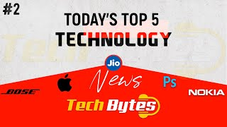 Today's Top 5 Interesting Trending Technological News | 02 | Tech Bytes
